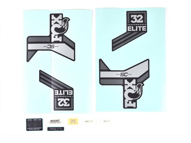 Fox Racing Shox Decal Kit for 32 SC P-SE, grey/matte black